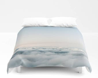 Cloud Bedding, Cloud Duvet Cover, Sky Bedding, Sky Duvet Cover, Cloud Bedroom Decor, Dreamy Dorm Decor