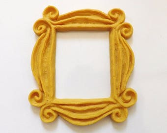 New Friends Frame TV Show Monica Photo Frame Door Yellow Very Good Finish, 4 Inch
