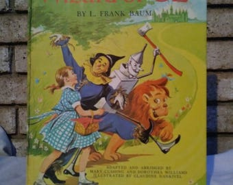 1962 first edition 4th printing The Wizard Of Oz by Frank Baum