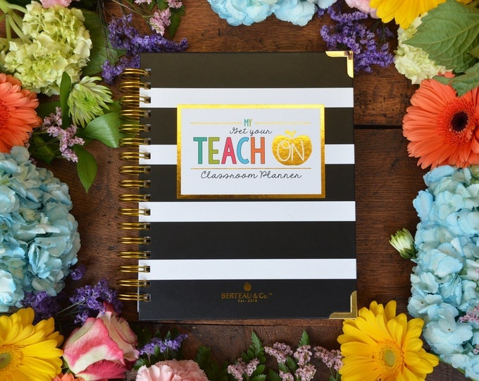 Featured listing image: Get Your Teach On Teacher Planner