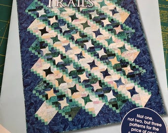Quilters' Trails pattern booklet by Debbie Caffrey
