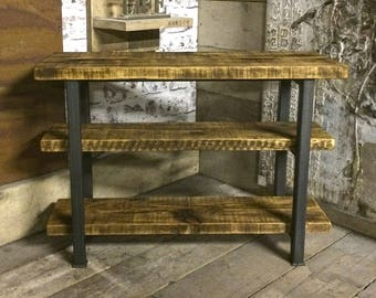 Handmade Industrial Style Bookshelf