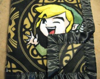 Soft Fleece Blanket - Zelda