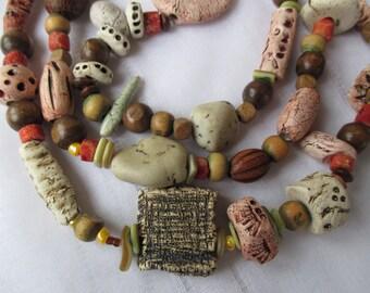 ART pottery - necklace - FRANCE