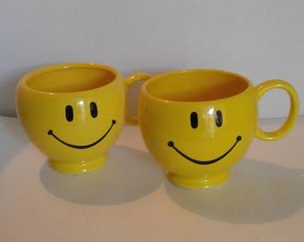 Smiley Face Teleflora Happy Face Mugs