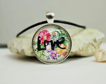 140 Love Necklace Love Pendant Gift with Love Lovely jewelry Love is all you need