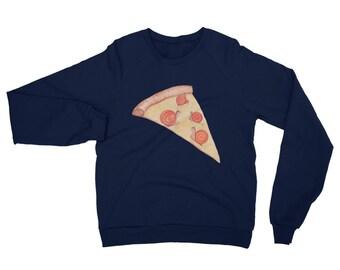 Snail Pizza Sweatshirt