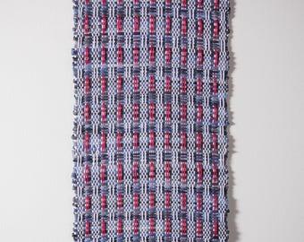 Huck Lace Fiber Art