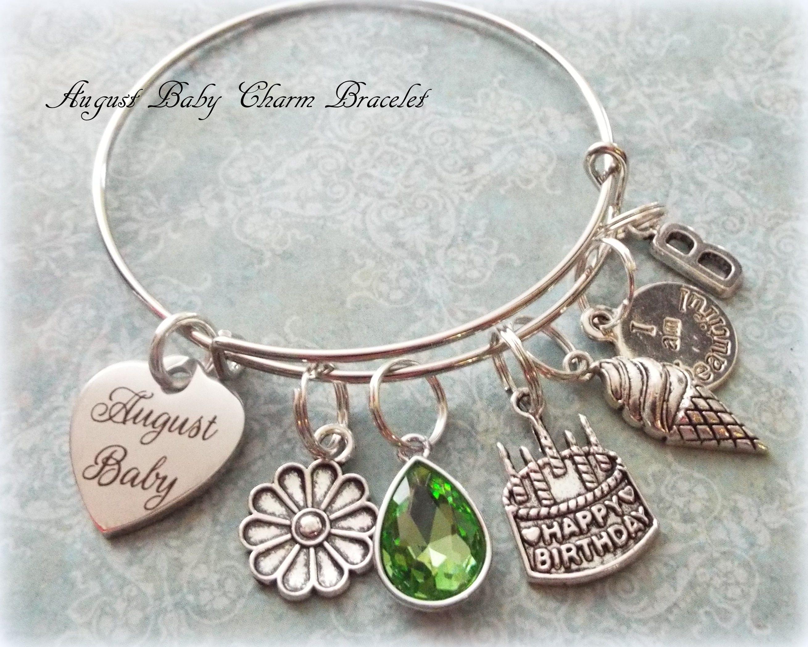 August Birthstone Jewelry August Happy Birthday Girl