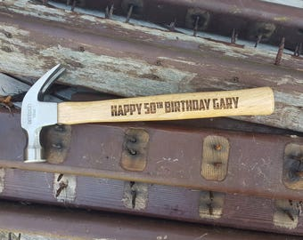 Custom Personalised Hammer (Free P&P)
