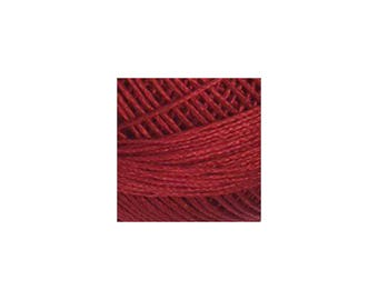 Lizbeth Thread Size 80 Solid: #670 Victorian Red