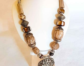 """Ethnic necklace """"Ancient Greco"""" Inspiration"""