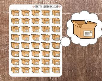 Box Planner Stickers   40 Stickers   Matte Removable   Erin Condren, Kikki K, Plum Paper Planner