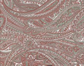 Paisley Jersey Knit Fabric Sewing Dresses Jackets Cardigans Waterfall Jacket Tunics