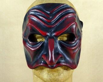 Commedia dell'Arte mask in papier maché: Pantalon de Bisognosi