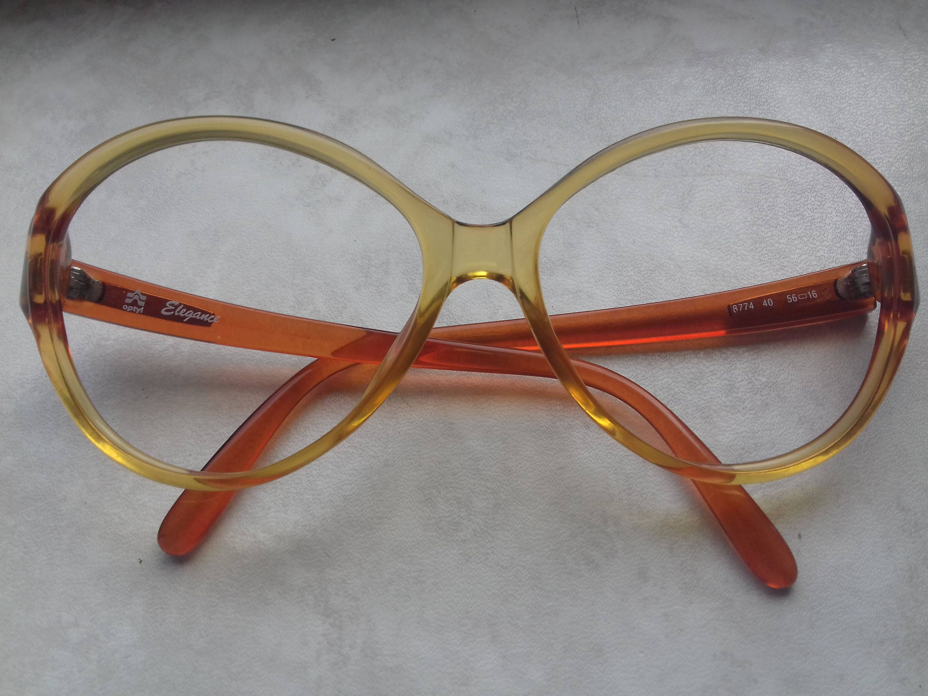 e14e49f8f1c Beautiful Vintage 70 s Women s Glasses Frames by Optyl-Optyl Elegance ...
