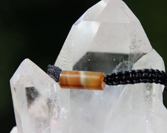 shamballa bracelet with agate bead