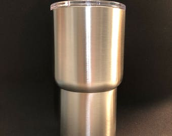20oz Stainless Steel Tumbler (Tapered)
