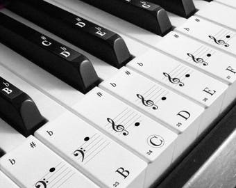 Keyboard stickers etsy for Interieur stickers
