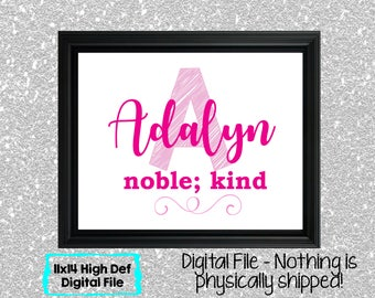 Name Meaning Baby Girl Sign