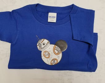 Disney BB-8 Mickey Ears Star Wars Shirt