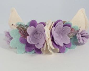 Fairy Costume Flower Crown