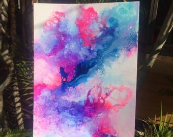 """Original mixed media artwork """"dreamscape"""""""