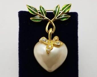 JOAN RIVERS Heart Pin
