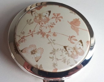 SALE Stratton Country Diary Of Edwardian Lady Butterfly Double Mirror Compact New & Boxed