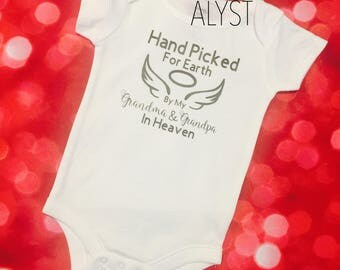 Handpicked for earth onesie