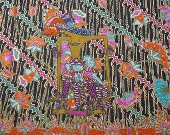 PRETTY ethnic cotton (wayang) JAVANESE BATIK