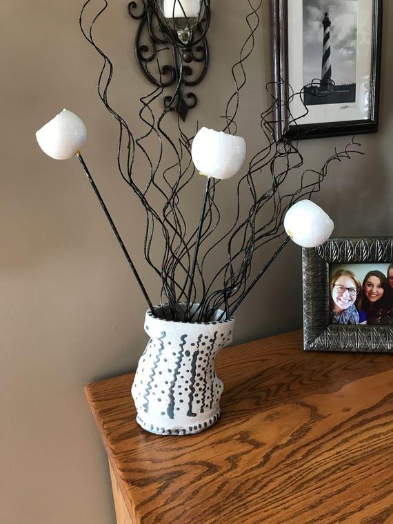Raku Altered Vase