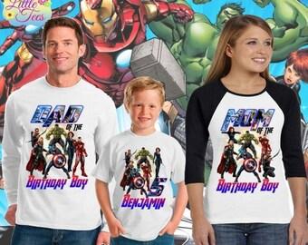 15% Off Avengers Assemble shirt/avengers birthday shirt/birthday boy avengers shirt/Avengers shirt/birthday boy shirt/avengers/ 183