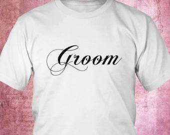 groom tee, groom t shirt, wedding tee, wedding t shirt, bridal party tee, bridal party shirt, mens shirt, groom's shirt, groom's tee's