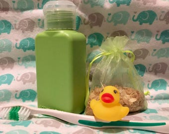 Hedgehog Bath Set