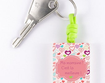 "Keychain ""my godmother? This is the best! """