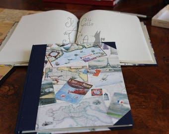 Travel with me, agenda pagine bianche - blank pages notepad