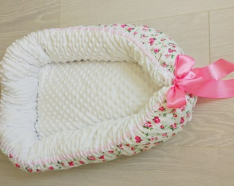 Babynest,co sleeper, baby nest,baby travel bed,baby cocoon,baby nest bed,toddler nest,baby shower gift,new baby gift,floral nursery