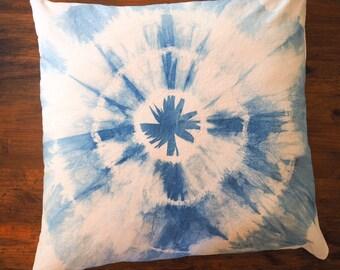 """Indigo """"Cycle"""" Floor Pillow"""