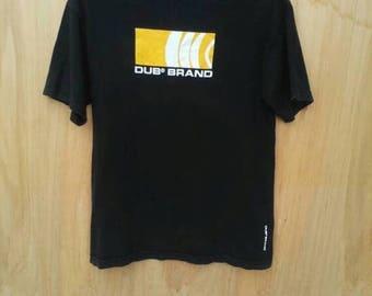 Vintage DUB Brand Weathergear Outwear Streetwear T-Shirt Sz Large Skateboarding /Snowboard/World Industries
