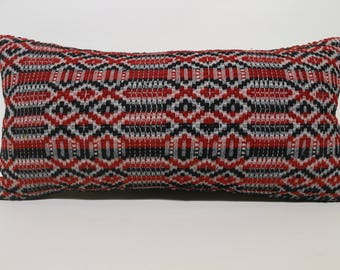 Handwoven Kilim Pillow Throw Pillow Sofa Pillow Anatolian Kilim Pillow Ethnic Pillow 12x24 Lumbar Kilim Pillow Cushion Cover  SP3060-1354
