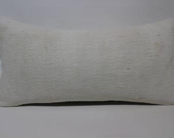 cushion cover 12x24 simple colour pillow white pillow throw pillow kilim pillow ethnic pillow home decor boho lumbar pillow SP3060-1513