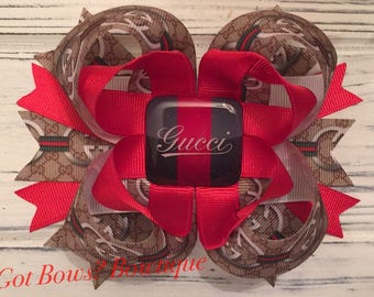Gucci Inspired Stacked Boutique Bow