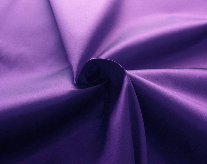 272216-natural Silk Mikado 100%, width 135/140 cm, made in Italy, dry cleaning, weight 190 gr