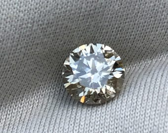 SI1 champagne Diamond. Natural earth mined stone! .51ct