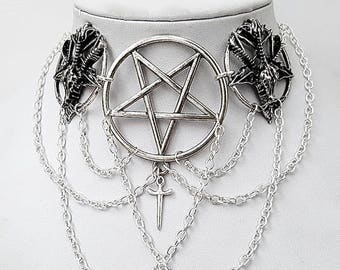 Gothic Occult Unholy Necklace