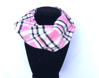 Kary scarf - Pink Baby Infinity Scarf - Pink Toddler Infinity Scarf - Pink Scarves - Scarves for girls
