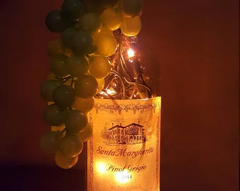 Santa Margherita Pinot Grigio Lighted Bottle