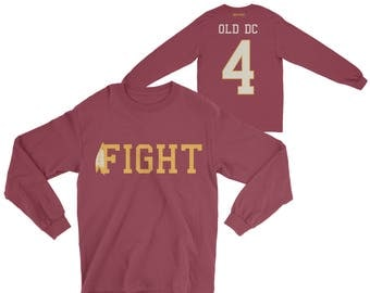Fight 4 Old DC Long Sleeve Tee