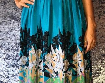 Blue Long Sundress